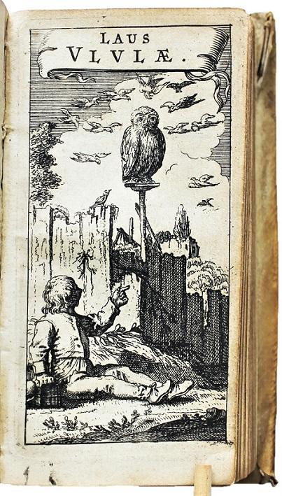 MORE,  THOMAS. - Utopia,  a mendis vindicata. Amsterdam,  J. Janssonius,  1631. Bound with: JAEL,  Curtius. [= ps. GODDAEUS,  Conr.] Laus Ululae.